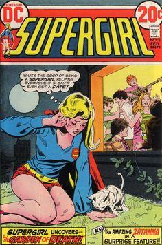 Items similar to Supergirl; Vol Zatanna, Bronze Age book. 1973 DC Comics, VF+ on Etsy Comic Books For Sale, Dc Comic Books, Vintage Comic Books, Comic Book Covers, Vintage Comics, Comic Art, Old Comics, Funny Comics, Horror Comics