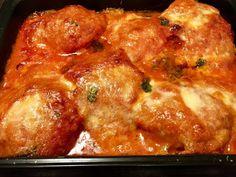 Parmesaanikana Parmesan, Chicken, Dinner, Ethnic Recipes, Food, Dining, Food Dinners, Essen, Meals