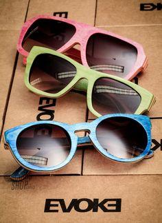 Novidades da Evoke trás óculos de madeira Maple! Essa nova coleção ficou incrível. #oculos #evoke #wood #madeira #maple