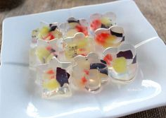 Fruit Jelly Recipe -  Very Delicious. You must try this recipe!