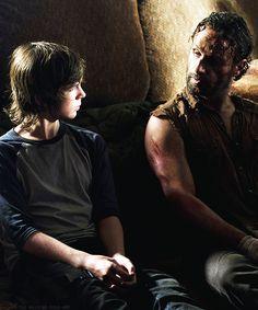 """Carl & Rick Grimes 4x09 """"After"""""""