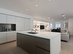 Basement kitchen - bulthaup by Kitchen Architecture #kitchens #kitchenarchitecture #bulthaup