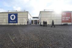 Special Location: Temporäre TV Studios in der Stuttgarter Innenstadt.