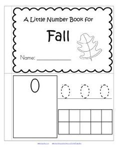 Fall FREEBIE!!! Math roll and color numbers 1-6 and 7-12