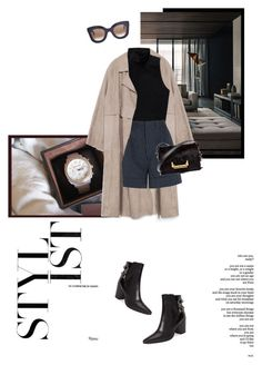 """Untitled #495"" by danceaddict15 ❤ liked on Polyvore featuring Zara, Talula, Totême, Yves Saint Laurent, CÉLINE and Reverie"