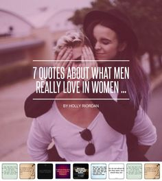 7 #Quotes about What Men Really Love in Women ... - Love