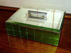 Art Deco Mirrored Mosaic Box