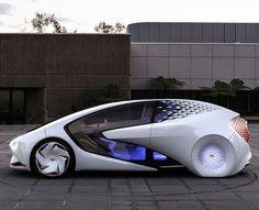 Concept-i – La voiture futuriste de Toyota présenté au CES 2017