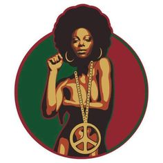 Hip Black Power Posters