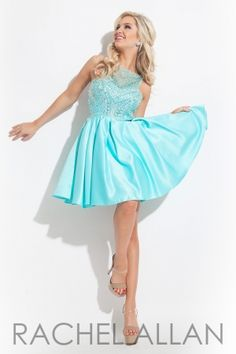 Matte satin skirt with sheer bodice. Order today by calling Everything for Pageants at 1-815-782-8877 and ask for our current promotions.