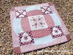 "2015 Pantone Quilt Challenge: Marsala ""Love and Loss"" by Quilting Jetgirl"