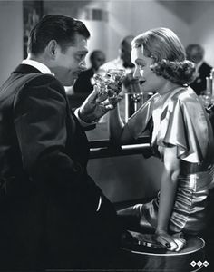 Clark Gable & Constance Bennett in After Office Hours (1935)
