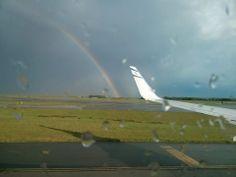 Roissy entre pluie et soleil