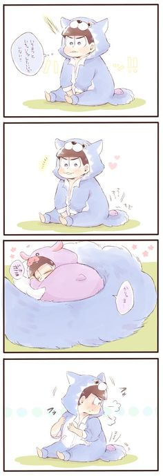 Image about cute in osomatsu-san by ARMY on We Heart It Yaoi Hard Manga, Hinata, Superfamily Avengers, Osomatsu San Doujinshi, Dark Anime Guys, Comic Drawing, Kawaii Chibi, Ichimatsu, Cute Memes