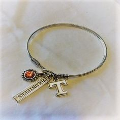 Offically Licensed Tennessee Football Charm Bracelet