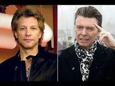 Jon Bon Jovi(ジョン・ボン・ジョヴィ)   有名ミュージシャンによるデヴィッド・ボウイのトリビュート動画いろいろ