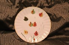 Your place to buy and sell all things handmade Beautiful Table Settings, Tree Patterns, Falling Leaves, The Good Old Days, Blue Ridge, Dinner Plates, Autumn Leaves, Vintage Items, Pottery