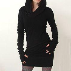 Hoody Sweatshirt Bodycon Dress   Legacy Looks @ LegacyLooks.com 1-800-639-6710