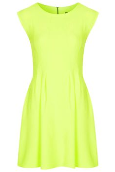 Spring Lime Crepe Dress!