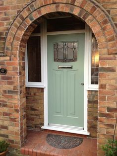 To show brick and quite clear uPVC