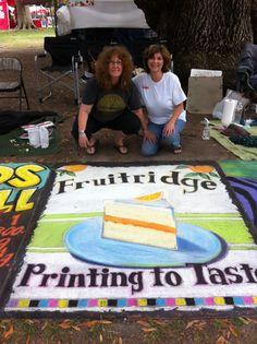 Our Chalk It Up design. Sacramento 2013