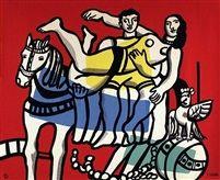 Au Cirque par Fernand Léger