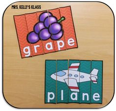 Magic E Puzzles! My kids love puzzles, even better when they reinforce literacy skills!