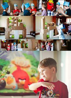 Angry Birds Birthday Theme