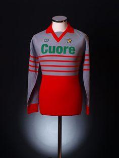 1983-84 AC Milan Match Issue Goalkeeper Shirt #12 | Retro AC Milan Shirts | Classic AC Milan Football Shirts | Old AC Milan Shirts | Vintage...