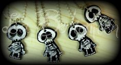 From La Bohemien, Italy, these funny skeletons!!! ^___^
