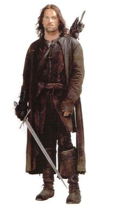 Aragorn | 17 Fictional Men Who Make Long Coats Sexy