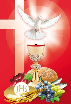 Znalezione obrazy dla zapytania obrazki na boże ciało Christian Artwork, Christian Images, Catholic Pictures, Jesus Pictures, Church Banners Designs, First Communion Decorations, Jesus Christ Images, Christ The King, Hand Embroidery Flowers