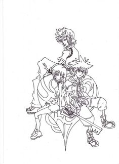 Kingdom hearts coloring pages home kingdom hearts for Kingdom hearts printable coloring pages