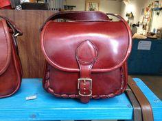 Handmade Leather bag - FedericoBadia, Orvieto, Italy