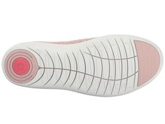 FitFlop Uberknit Ballerina Women's Slip on Shoes Neon Blush/White