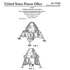 Kerbal Space Program, Lunar Lander, Apollo Space Program, Moon Missions, Woodland Hills, Air Space, Space Images, Space Station, Patent Prints