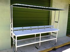 Cleaning fish and table plans on pinterest for Fish cleaning table bass pro