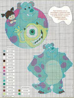 Charms en point de croisement: Monsters Inc.