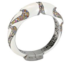 MCL by Matthew Campbell Laurenza - Duo Stone Bangle - MCL by Matthew Campbell Laurenza