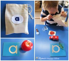 Montessori Pre-Reading Activities - www.mamashappyhive.com