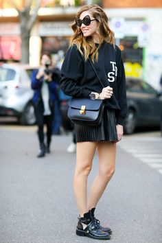 Street Style Highlights in Milan Fashion Week 2014