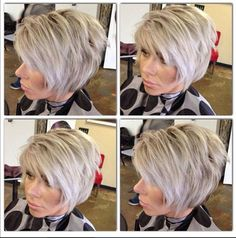 sarah harding brunette pictures | Short blonde hair! Color and cut by Connie Delamora!