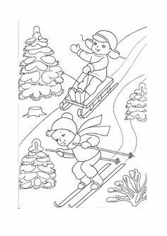 ausmalbilder winter - ausmalbilder für kinder | ausmalbilder | ausmalbilder winter, ausmalbilder