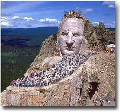 Crazy Horse Memorial  Google Image Result for http://www.blackforestinn.net/images/crazyhorsefront.jpg