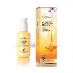 The Wild Ferns Manuka Honey Gentle Facial Cleanser is a cr?me cleanser with pure New Zealand premium certified Manuka Honey 80+.The manuka works deep in the skins pores and does so without stripping your skins natural oils.The facial cleanser also feature