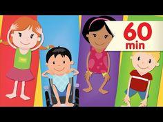 Head Shoulders Knees & Toes + More | Nursery Rhymes | Super Simple Songs - YouTube