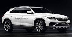 awesome Skoda's Forthcoming Kodiaq Coupe Will Probably Loo...   Carscoops Check more at http://pinwall.top/pin/8749/
