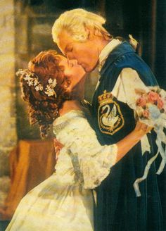 Cinderella and her Prince - The Slipper and the Rose