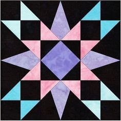 Barn Quilt Patterns, Paper Piecing Patterns, Pattern Blocks, Lap Quilts, Quilt Blocks, Star Blocks, Layer Cake Quilts, Thing 1, Foundation Paper Piecing