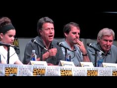 ENDER'S GAME Comic-Con Panel: Harrison Ford, Asa Butterfield, etc.